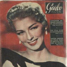Coleccionismo de Revista Garbo: REVISTA GARBO. DICIEMBRE 1956. Nº 196. VÍCTOR MANUEL DE ITALIA. DANI GRAYNE. AGUSTÍN GÓMEZ. Lote 53370879