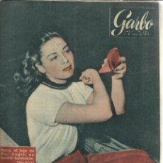 Coleccionismo de Revista Garbo: REVISTA GARBO. ENERO. 1957. Nº 200 . PERRY ANGELI. ELIZABETH II. LILIANA BAELS. Lote 53370900