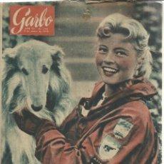 Coleccionismo de Revista Garbo: REVISTA GARBO. MARZO. 1958. Nº 260. ALI KHAN. VÍCTOR MANUEL DE ITALIA. TANNY CONNER. Lote 53370911