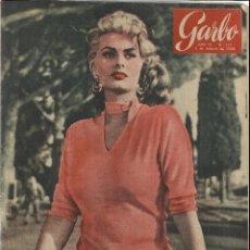 Coleccionismo de Revista Garbo: REVISTA GARBO. FEBRERO. 1956. Nº 151. SOFIA LOREN. MUD YKOMORO. EL SEÑOR ATLAS. Lote 53370956