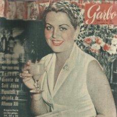 Coleccionismo de Revista Garbo: REVISTA GARBO. AGOSTO. 1954. Nº 73. PRINCESA GIOVANNA PIGNATELLI. MAERLING FARK. Lote 53371068