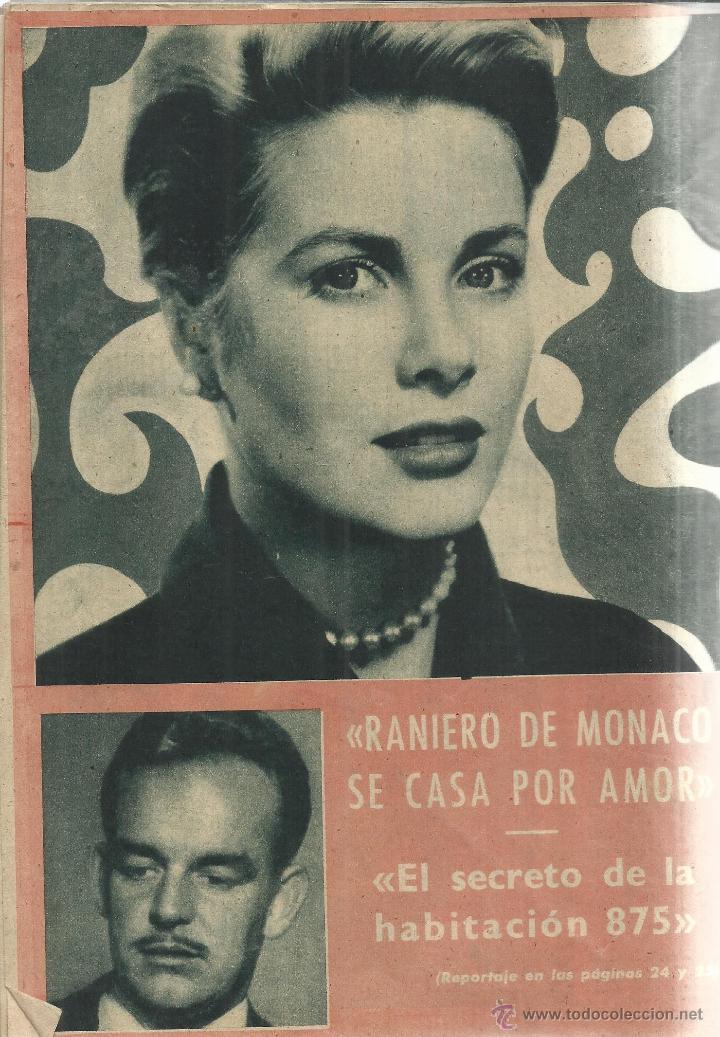Coleccionismo de Revista Garbo: REVISTA GARBO. ENERO. 1956. Nº 148. LAUREN BACCAL. RAINERO DE MÓNACO. GRACE KELLY - Foto 3 - 53371124