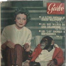 Coleccionismo de Revista Garbo: REVISTA GARBO. AGOSTO. 1957. Nº 230. GINA LLLOBRIGIDA. LILI GENTLE. Lote 53371133