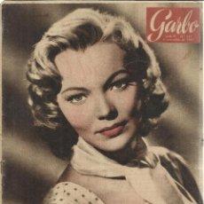 Coleccionismo de Revista Garbo: REVISTA GARBO. NOVIEMBRE. 1957. Nº 243. LOLA FLORES. JOAQUÍN BLUME, KIPP HAMILTON. Lote 53371199