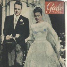 Coleccionismo de Revista Garbo: REVISTA GARBO. ENERO. 1957. Nº 202 . HELENA DE FRANCIA. ALFONSO TOUS. JANES KADAR. Lote 53371233
