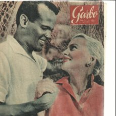 Coleccionismo de Revista Garbo: REVISTA GARBO. SEPTIEMBRE. 1957. Nº 236. ESTHER WILLIANS. FAMILIA TRAP.JOAN FONTAINE.HARRY BELAFONTE. Lote 53371292