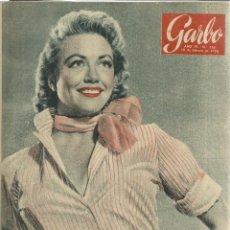Coleccionismo de Revista Garbo: REVISTA GARBO. FEBRERO. 1956. Nº 153.DOROTHY MALON. ARSENIO LUPIN. ANNA MAGNANI. Lote 53371378