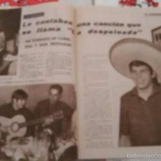 Coleccionismo de Revista Garbo: RECORTE MANUEL BENITEZ EL CORDOBESMARIO MORENO CANTINFLAS . Lote 56992667