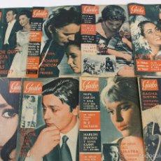 Coleccionismo de Revista Garbo: RV-29. REVISTA GARBO. LOTE DE 28 REVISTAS. DESDE AÑO 1953 A 1966. NUMEROS SALTEADOS(SE DETALLAN). Lote 57101727