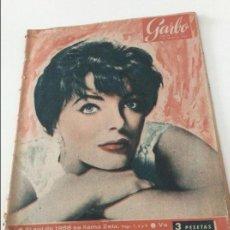 Coleccionismo de Revista Garbo: GARBO 15 FEBRERO 1958 GRACE KELLY RANIERO , KARIM , TIBIDABO , TORO SENTADO.... Lote 57642576