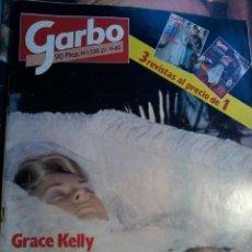 Coleccionismo de Revista Garbo: REVISTA GARBO Nº 1536-GRACE KELLY TODAS LAS FOTOS DEL ULTIMO ADIOS-AÑO 1982. Lote 57977291