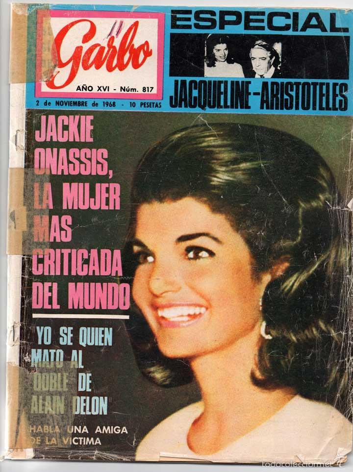 REVISTA GARBO Nº 817. 02-11-1968 - JACKIE ONASSIS, JOHN LENNON Y YOKO ONNO DETENIDOS POR DROGAS (Coleccionismo - Revistas y Periódicos Modernos (a partir de 1.940) - Revista Garbo)
