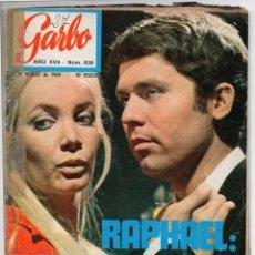 Coleccionismo de Revista Garbo: REVISTA GARBO Nº 837 - 09-03-1969 - RAPHAEL, NIXON, MÓNICA VITTI, AZNAVOUR,LLANTO POR EL BEATLE PAUL. Lote 60179123