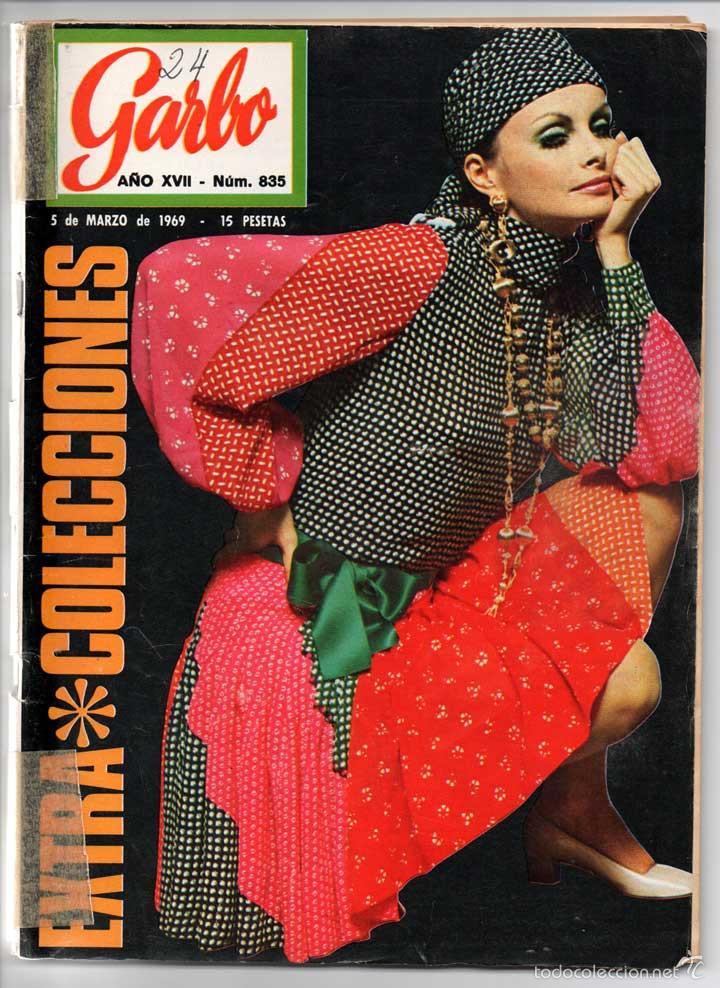 REVISTA GARBO Nº 835 - 05-03-1969 - NIXON EN EUROPA, ADOLFO MARSILLACH, MASSIEL (Coleccionismo - Revistas y Periódicos Modernos (a partir de 1.940) - Revista Garbo)