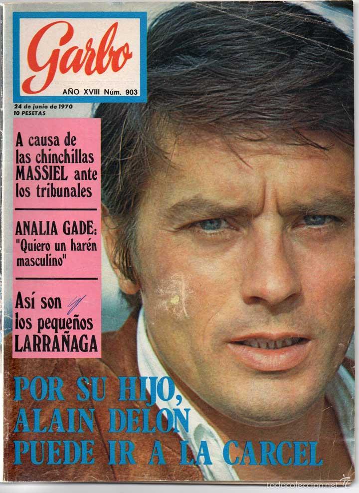 REVISTA GARBO Nº 903 - 24-06-1970 - MASSIEL, ANALIA GADE, LARRAÑAGA, ALAIN DELON (Coleccionismo - Revistas y Periódicos Modernos (a partir de 1.940) - Revista Garbo)