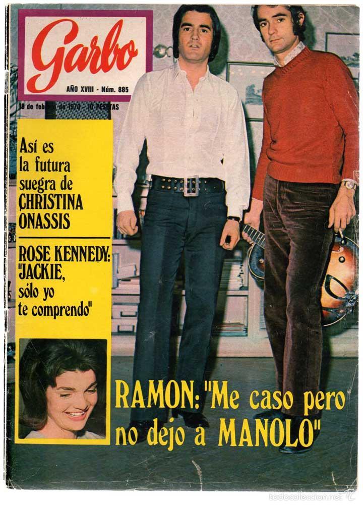 REVISTA GARBO Nº 885 - 18-02-1970 - CHRISTINA ONASSIS, ROSE KENNEDY, MANOLO Y RAMÓN (Coleccionismo - Revistas y Periódicos Modernos (a partir de 1.940) - Revista Garbo)