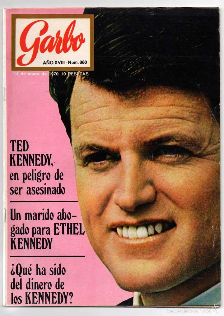 REVISTA GARBO Nº 880 - ETHEL KENNEDY, GREGORY PECK, EL PURI, GINA, SOFÍA, SORAYA (Coleccionismo - Revistas y Periódicos Modernos (a partir de 1.940) - Revista Garbo)