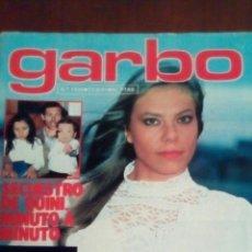 Revista Garbo n'1455 año 1981 secuestro de Quini.