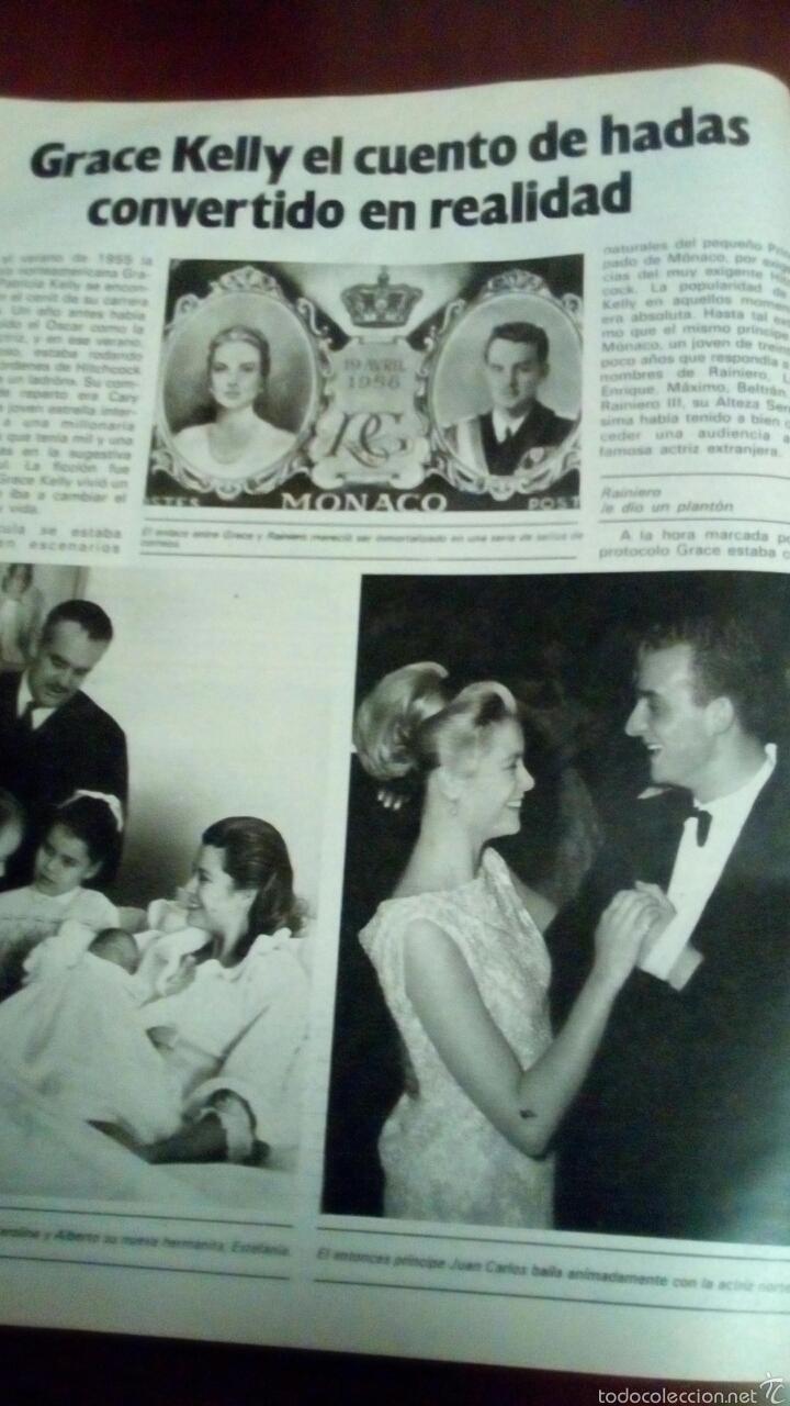 Coleccionismo de Revista Garbo: Revista Garbo n'1536 año 1982 Grace Kelly todas fotos del último adiós. - Foto 2 - 61166649