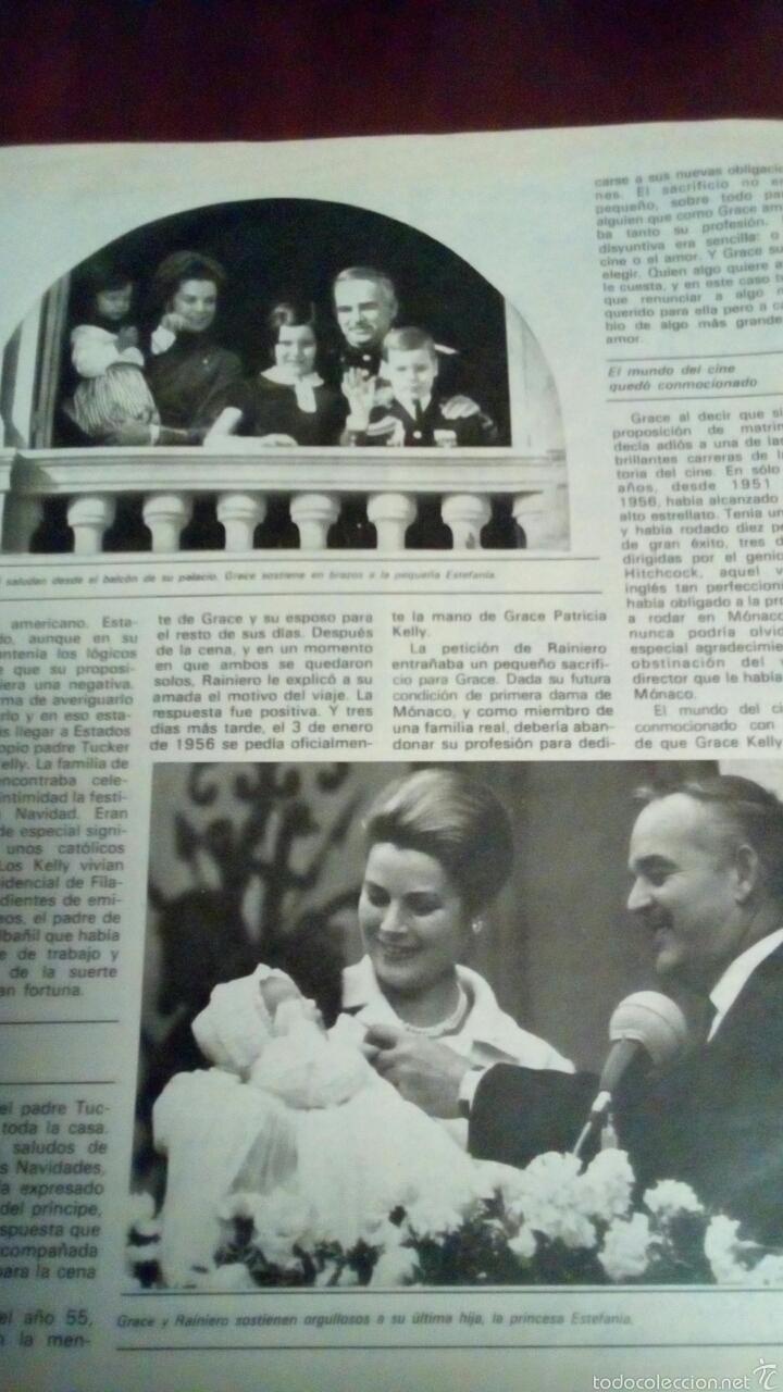 Coleccionismo de Revista Garbo: Revista Garbo n'1536 año 1982 Grace Kelly todas fotos del último adiós. - Foto 4 - 61166649