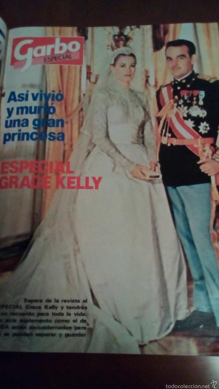 Coleccionismo de Revista Garbo: Revista Garbo n'1536 año 1982 Grace Kelly todas fotos del último adiós. - Foto 9 - 61166649