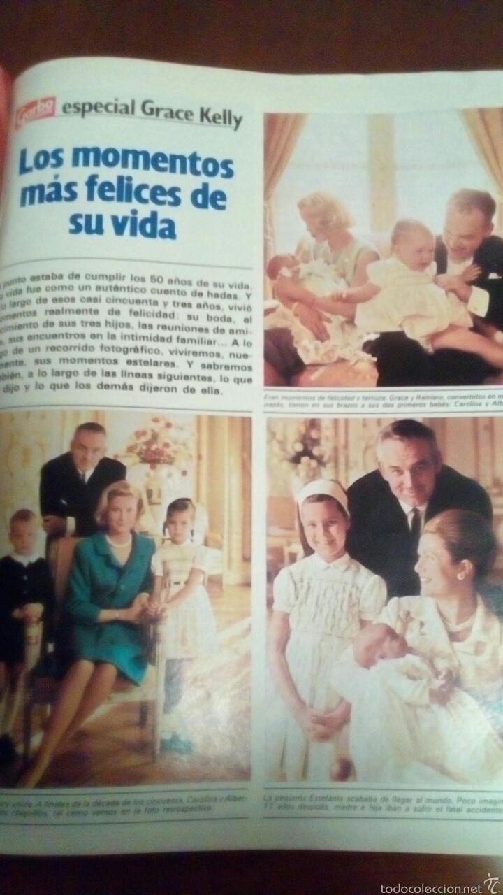 Coleccionismo de Revista Garbo: Revista Garbo n'1536 año 1982 Grace Kelly todas fotos del último adiós. - Foto 12 - 61166649