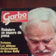 Coleccionismo de Revista Garbo: REVISTA GARBO N'1537 AÑO 1982 RAINIERO SE MUERE DE PENA. Lote 61166897