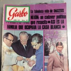 Coleccionismo de Revista Garbo: REVISTA GARBO Nº 819 DE 1968. Lote 64498271