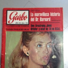 Coleccionismo de Revista Garbo: REVISTA GARBO Nº 776 DE 1968. Lote 64498651