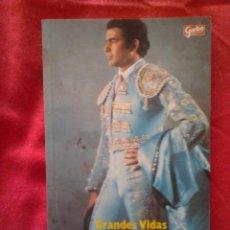 Coleccionismo de Revista Garbo: PAQUIRRI. AMOR, GLORIA, MUERTE. JUAN SOTO VIÑOLO. GRANDES VIDAS. GARBO HERES 1984, 1º EDICION. Lote 65913518