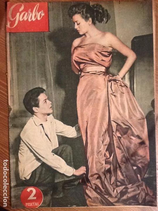 REVISTA GARBO AÑO 1 Nº 3 DE 28 DE MARZO 1953 PORTADA ROBERTO CAPUCCI Y FRANCO ROME (Coleccionismo - Revistas y Periódicos Modernos (a partir de 1.940) - Revista Garbo)