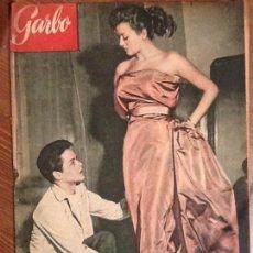 Coleccionismo de Revista Garbo: REVISTA GARBO AÑO 1 Nº 3 DE 28 DE MARZO 1953 PORTADA ROBERTO CAPUCCI Y FRANCO ROME. Lote 67386113