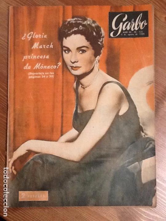 REVISTA GARBO AÑO 3 Nº 125 DE 6 DE AGOSTO 1955 PORTADA MARTIN VANTOIRA. S.C. SHIRLEY. JEAN SIMMONS (Coleccionismo - Revistas y Periódicos Modernos (a partir de 1.940) - Revista Garbo)