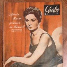 Coleccionismo de Revista Garbo: REVISTA GARBO AÑO 3 Nº 125 DE 6 DE AGOSTO 1955 PORTADA MARTIN VANTOIRA. S.C. SHIRLEY. JEAN SIMMONS. Lote 67392265