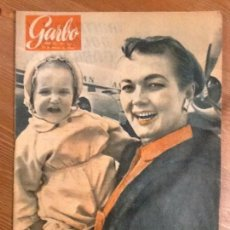 Coleccionismo de Revista Garbo: REVISTA GARBO AÑO 3 Nº 104 DEL 12 MARZO 1955 PORTADA PATRICIA WYMARE .BODA LUIS MIGUEL Y LUCIA. Lote 67392481