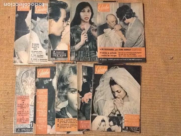 LOTE 10 REVISTA GARBO AÑO 1961 (Coleccionismo - Revistas y Periódicos Modernos (a partir de 1.940) - Revista Garbo)