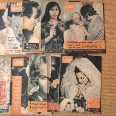 Coleccionismo de Revista Garbo: LOTE 10 REVISTA GARBO AÑO 1961. Lote 67405909