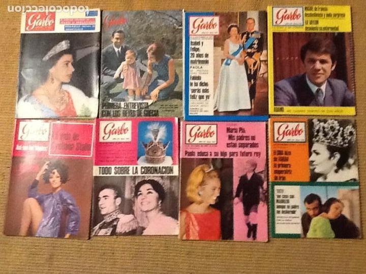 LOTE 23 REVISTA GARBO 1965 A 1973 (Coleccionismo - Revistas y Periódicos Modernos (a partir de 1.940) - Revista Garbo)