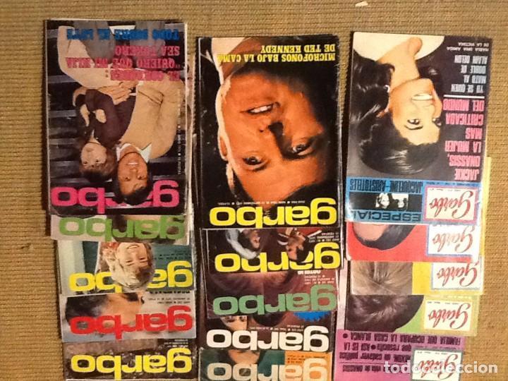 Coleccionismo de Revista Garbo: LOTE 23 REVISTA GARBO 1965 A 1973 - Foto 2 - 67406185