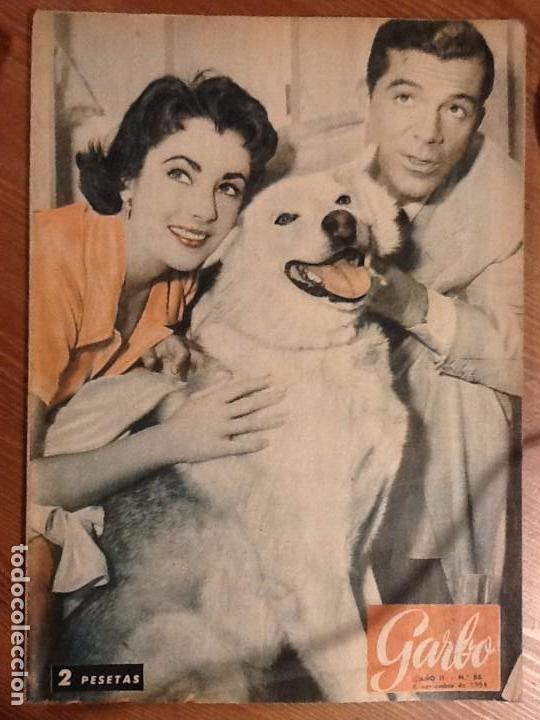 REVISTA GARBO AÑO 2 Nº 86 DE 6 DE NOVIEMBRE 1954 PORTADA ELIZABETH TAYLOR Y DANA ANDREWS (Coleccionismo - Revistas y Periódicos Modernos (a partir de 1.940) - Revista Garbo)