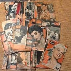 Coleccionismo de Revista Garbo: LOTE 43 REVISTA GARBO AÑO 1958. Lote 67405301