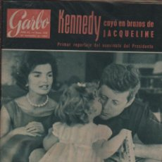 Coleccionismo de Revista Garbo: REVISTA GARBO - PRIMER REPORTAJE DEL ASESINATO PRESIDENTE KENNEDY - 30-10-1963 Nº 559. Lote 73571531