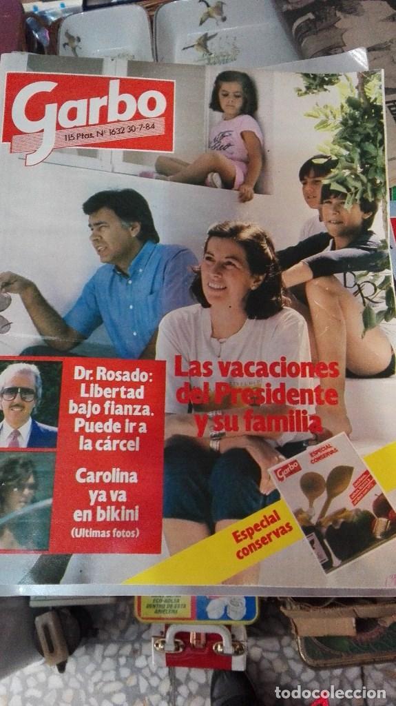 GARBO 84 LAS VACACIONES DE FELIPE GONZALEZ (Coleccionismo - Revistas y Periódicos Modernos (a partir de 1.940) - Revista Garbo)