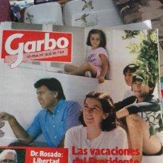 Coleccionismo de Revista Garbo: GARBO 84 LAS VACACIONES DE FELIPE GONZALEZ. Lote 75495731