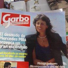 Coleccionismo de Revista Garbo: GARBO MERCEDES MILA, MICHAEL JACKSON. Lote 75495931