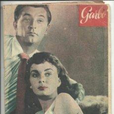 Coleccionismo de Revista Garbo: GARBO 1 DE AGOSTO DE 1953 AÑO 1 Nº 21. Lote 78896581