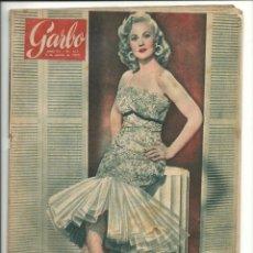 Coleccionismo de Revista Garbo: GARBO 5 DE MARZO DE 1955 AÑO III Nº 103. Lote 78898541