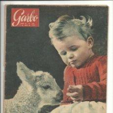 Coleccionismo de Revista Garbo: GARBO 9 DE ABRIL DE 1955 AÑO III Nº 108. Lote 78898889