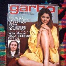 Coleccionismo de Revista Garbo: GARBO / SALVADOR DALI, RICHARD CHAMBERLAIN, ISABEL LUQUE, SARA MONTIEL, MARISOL JORGE SEPULVEDA +. Lote 79263989
