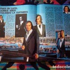 Coleccionismo de Revista Garbo: GARBO / PACO DE LUCIA, LAS GRECAS, ROCIO JURADO, SANDRA MOZAROWSKY, MOCEDADES, CECILIA, MONTIEL. Lote 79757425